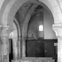 La base du clocher vue vers le sud (1996)