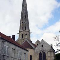 L'église vue de l'est (2019)