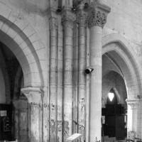 Retombée de l'arc triomphal au sud du choeur (1996)