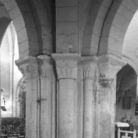 Pilier nord-est de la base du clocher (1996)
