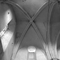 La voûte de la première travée de la nef (1996)