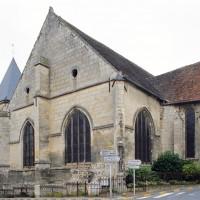L'église vue du sud-est (2007)