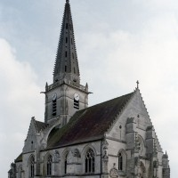 L'église vue du nord-ouest (2007)