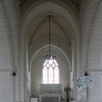 La travée du clocher et le choeur vus vers l'est (2008)