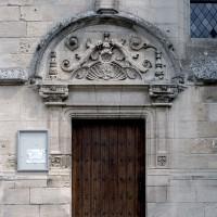 Le portail ouest du bas-côté nord de la façade (2007)