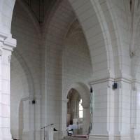 La travée du clocher vue vers le nord-est (2008)