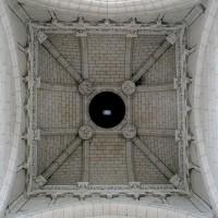 La voûte de la travée du clocher (2008)