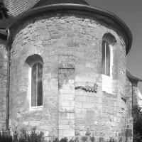 L'abside vue du sud-est (1996)