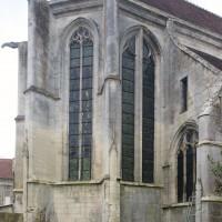 L'abside vue depuis le nord-est (2016)