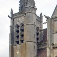 Le clocher et la flèche vus du sud-est (2016)