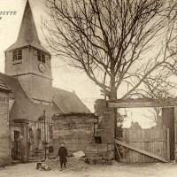 L'église en 1923