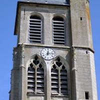 Le clocher vu du sud (2017)