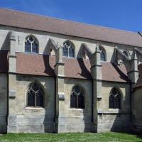 La nef et le choeur vus du sud-ouest (2017)