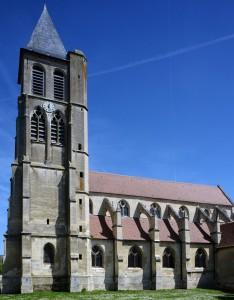 L'église vue du sud (2017)