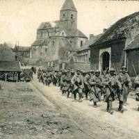 L'église vers 1915