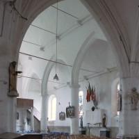 La nef vue vers le nord-ouest (2005)