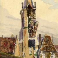 L'église vers 1917-1918
