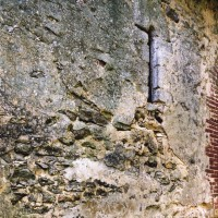 Détail du mur sud de la nef (2005)