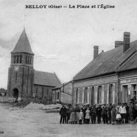 L'église en 1929