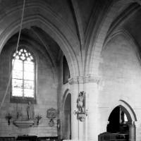 Vue partielle du transept et du choeur vers le nord