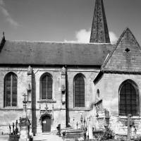 L'église vue du sud
