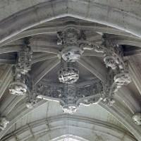La voûte de la chapelle sud (2008)