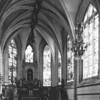 Le choeur de la paroisse vu vers le sud-est (2003)
