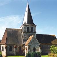 L'église vue du nord-est (2004)