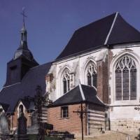 L'église vu du sud-est (2003)