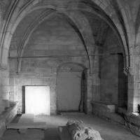 L'intérieur de l'étage inférieur vu vers le nord-est (1999)