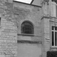 Le chevet de la chapelle de l'abbé vu du sud (1999)