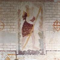 Fresque représentant saint Christophe (2005)