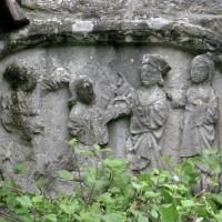 Bas-relief remonté dans le bras sud du transept (2007)