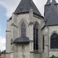 Le choeur paroissial et le choeur Saint-Nicolas vus de l'est (2003)