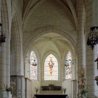 Le choeur Saint-Nicolas vu vers l'est (2003)