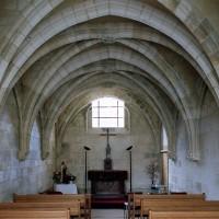 La chapelle vue vers le sud (2004)