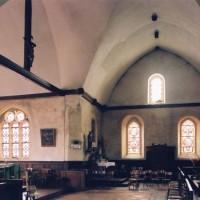 La croisée du transept vue vers le sud (2005)