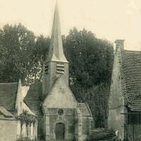 L'église en 1907