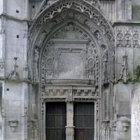 Le portail du bras nord du transept (2001)