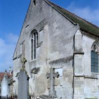 La façade ouest vue du sud-ouest (2007)