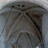 Les voûtes du choeur et de l'abside vues vers l'est (2007)