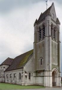 L'église vue du nord-ouest (2006)