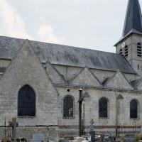 L'église vue du nord-est (2006)