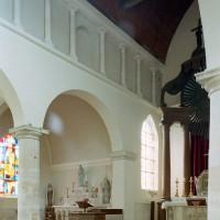 Le choeur et la nef vus vers le nord-est (2007)