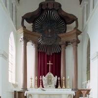 Le baldaquin du maître autel (2007)