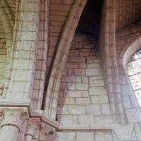 Vue partielle de la voûte de l'abside (2007)