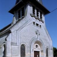 La façade vue du nord-ouest (2006)
