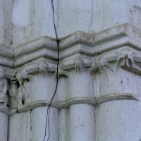 Chapiteaux de la travée du clocher (2005)