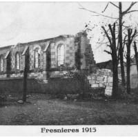 L'église en 1915
