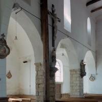 L'élévation sud de la nef vue vers le sud-ouest (2006)